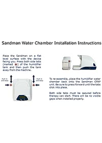 Covidien Sandman water chamber instructions2