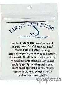 First Defense Nasal Screen - Previous Package