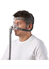 Mirage FX CPAP Mask Worn Man 62103