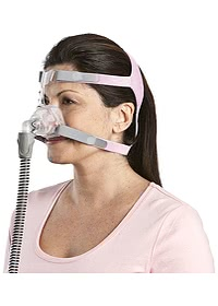 Mirage FX for Her Nasal Mask - Angle (Shown on Model)