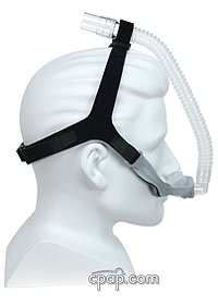 Opus 360 Nasal Pillow Mask (side - shown on mannequin)