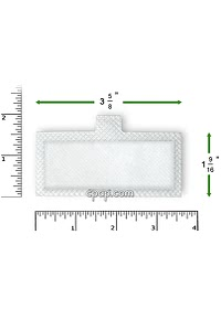 Respironics Remstar Disposable white filter top rulers 2