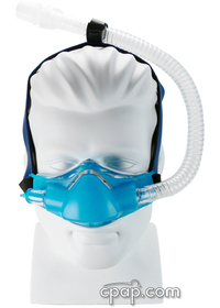 Sleepnet Phantom Nasal CPAP Mask With Headgear Front Tube up