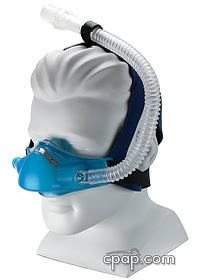 Sleepnet Phantom Nasal CPAP Mask With Headgear Profile
