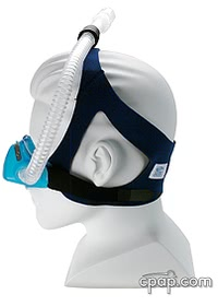 Sleepnet Phantom Nasal CPAP Mask With Headgear Side