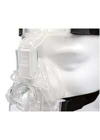 Sylent Nasal CPAP Mask with Headgear Close Up