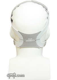TrueBlue CPAP Mask Back - Shown on Mannequin