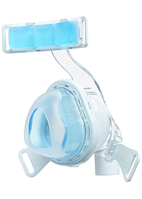 TrueBlue CPAP Mask Cushion Angle