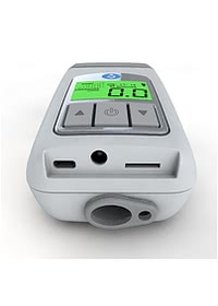 Z1 Travel CPAP Machine - Ports End View