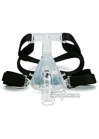 Zzz Mask Nasal CPAP Mask with Headgear Front 3