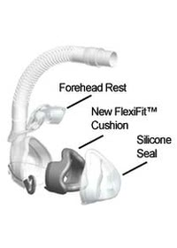 Aclaim 2 Nasal CPAP Mask Illustration