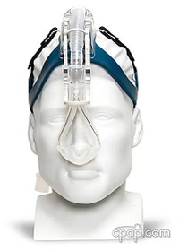 Headrest Nasal Pillow CPAP Mask with Headgear
