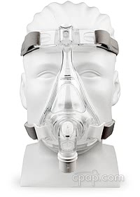 Amara Full Face Mask - Front -on-Mannequin (Not Included)