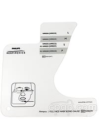 Amara Full Face Mask Sizing Guide