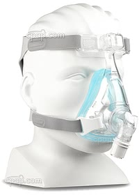 Amara Gell Full Face Mask - Angle Front - Shown on Mannequin (Not Included)