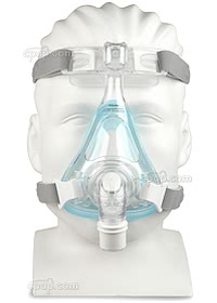 Amara Gell Full Face Mask - Front - Shown on Mannequin (Not Included)