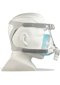 Amara Gell Full Face Mask - Side - Shown on Mannequin (Not Included)