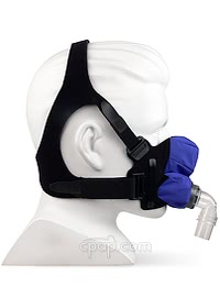 SleepWeaver Anew™ with Headgear - Side - On Mannequin (Not Included)