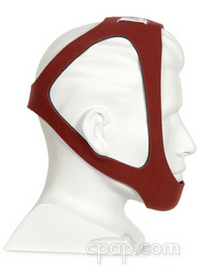 cardinal health tiara adjustable ruby chinstrap side
