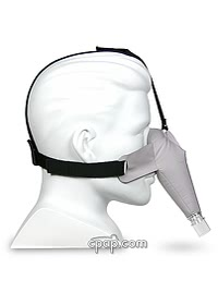 circadiance sleepweaver nasal cpap mask inflated side
