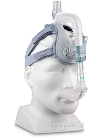 ComfortLite 2 Mask and Headgear - Angle Front on Mannequin