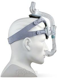 ComfortLite 2 Mask and Headgear - Side on Mannequin (not included)