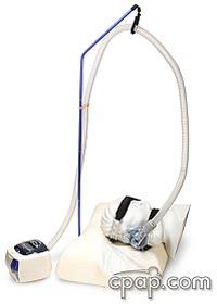 cpap hose lift with head machine hose2