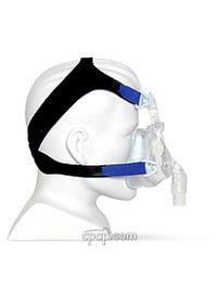 devilbiss easyfit gel full face mask side