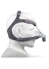 Eson Nasal CPAP Mask with Headgear - Side