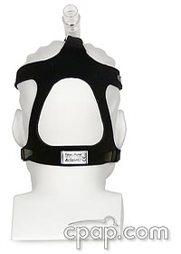 Headgear for Aclaim 2 CPAP Mask - Back (shown on mannequin with mask)