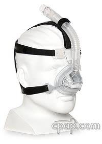Aclaim 2 Nasal CPAP Mask with Headgear - Angle Front (shown on mannequin - not included)