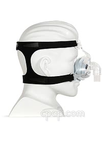 fisher paykel hc405 nasal cpap mask side