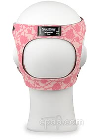 Lady Zest Q Nasal CPAP Mask with Headgear - Back (Shown on Mannequin - not included)