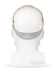 Headgear for Nuance Pro Gel Frame - Back - Shown on Mannequin (Not Included)