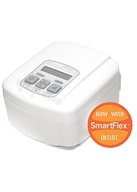intelliPAP Autoadjust cpap profile w smartflex logo