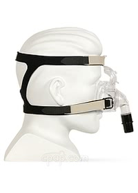 invacare twilight nasal cpap mask side