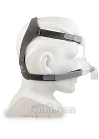 Mirage FX Nasal CPAP Mask (Side-shown on mannequin)