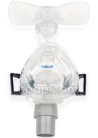 Mirage Micro Nasal CPAP Mask and Clips (back)