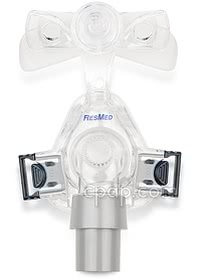 Mirage Micro Nasal CPAP Mask and Clips (front)