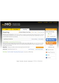 myzeo zeo personal sleep coach guided coaching