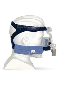 Pad A Cheek Strap Pad - Shown with Mask on Mannequin (Not Inluded)