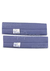Medium Blue - Pad A Cheek Strap Pad Pair