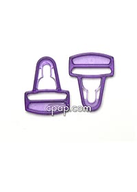 Zzz-Mask Full Face Headgear Clips - Purple