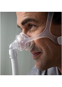 Wisp Nasal CPAP Mask - In Use - Mask Only Included