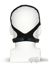 Zzz-Mask Full Face CPAP Mask with Headgear Back- Shown on Mannequin (Not Included)