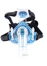 Profile Lite CPAP Mask Shown With Headgear