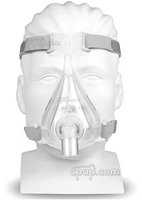 Quattro Air Full Face Mask - Front - On Mannequin (Not Included)