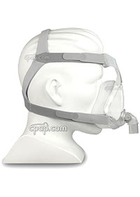 Quattro Air Full Face Mask - Side - On Mannequin (Not Included)