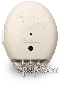 reliance power out warning alarm front