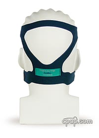 resmed mirage cpap mask headgear on head